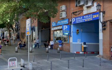 Garaje Embajadores - Städteparken Madrid
