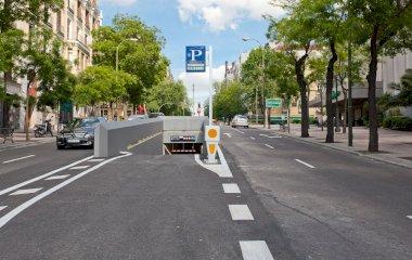 Serrano Ortega y Gasset - Städteparken Madrid