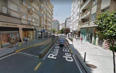 Praza Roxa de Santiago - Städteparken Santiago Compostela
