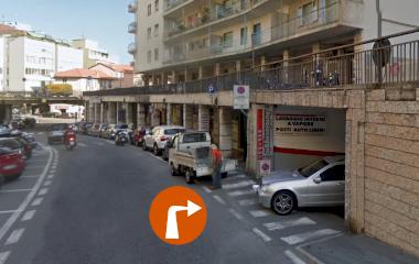 Garage de Matteis - Städteparken Sanremo