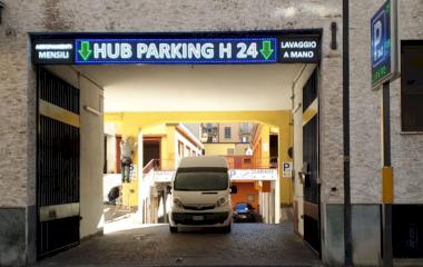 HUB Parking Copernico - Städteparken Mailand