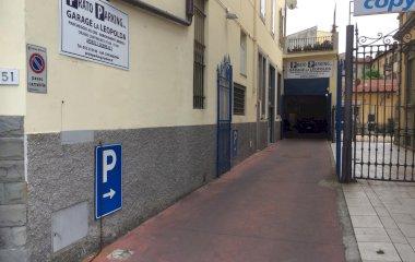 Garage la Leopolda - Städteparken Florenz