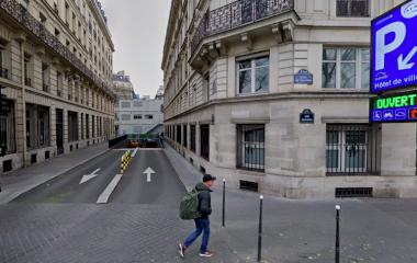 SAEMES Hôtel de Ville - Städteparken Paris