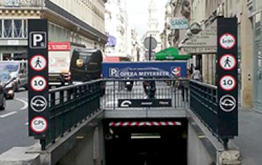 SAEMES Meyerbeer Opéra - Städteparken Paris