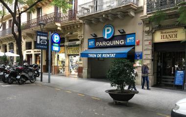 Garatge Condal – Letamendi - Städteparken Barcelona