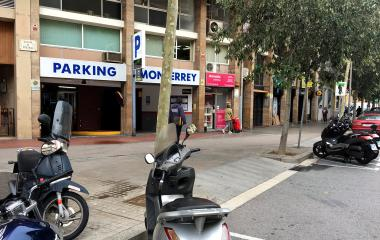 Sant Antoni – Monterrey - Städteparken Barcelona