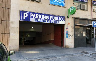 Avda América – Clara del Rey - Städteparken Madrid