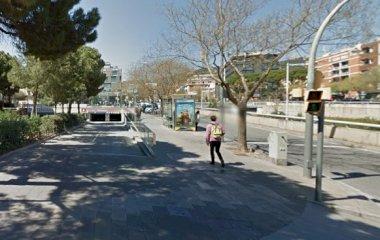 BSM Bonanova- Porta de Sarrià - Städteparken Barcelona