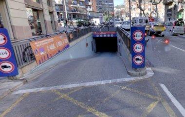 BSM Avinguda Gaudí – Hospital de Sant Pau - Städteparken Barcelona