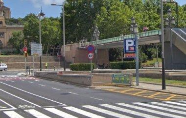 BSM Rius i Taulet – Fira Montjuïc - Städteparken Barcelona