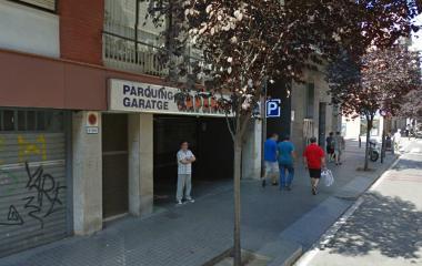 Junca – Gapark – Poble Sec - Städteparken Barcelona