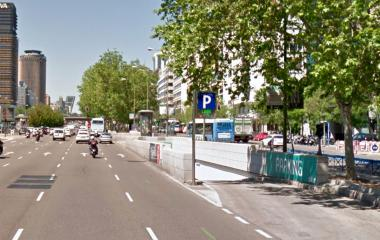 SABA Metro Nuevos MInisterios - Städteparken Madrid