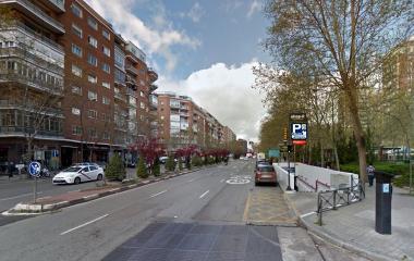 Presidente Carmona – Perón Bernabéu - Städteparken Madrid