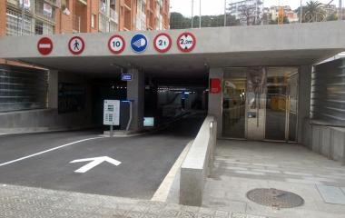 BSM Trav. de Dalt-Park Güell - Städteparken Barcelona