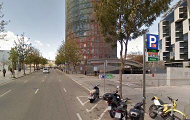 BSM Badajoz-Torre Agbar-22@ - Städteparken Barcelona