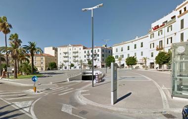 Saba Sassari Emiciclo Garibaldi - Städteparken Sassari