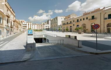 Saba Sassari Piazza Fiume - Städteparken Sassari