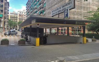 Sub-Way – Passeig de Sant Joan - Städteparken Barcelona