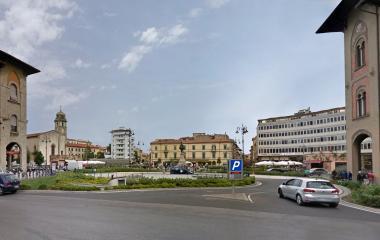 Saba Piazza Vittorio Emanuele II - Städteparken Pisa