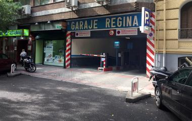 Garaje Regina – General Pardiñas - Städteparken Madrid
