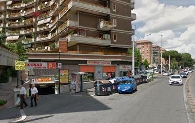 Garage Cervialto - Städteparken Rom