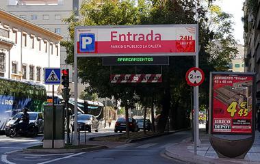 La Caleta - Städteparken Granada