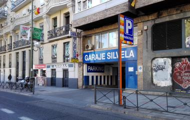 Garaje Silvela - Städteparken Madrid