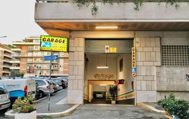 Garage Centrale Roma - Städteparken Rom
