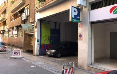 Garaje Funciona Motor - Städteparken Madrid