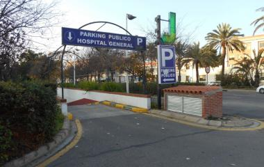 Hospital General – Tres Cruces - Städteparken Valencia