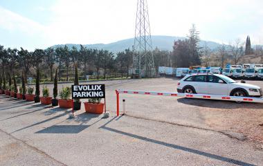 Evoluxparking - Städteparken Florenz