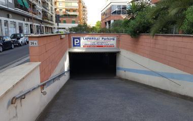 Laparelli parking - Städteparken Rom