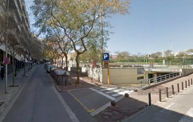 Manuel Valls - Städteparken Badalona
