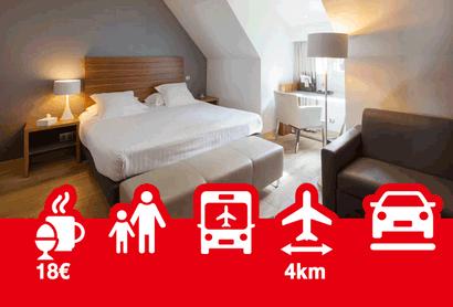 Hotel & Spa La Villa K - Hôtel avec parking à Aéroport de Bâle