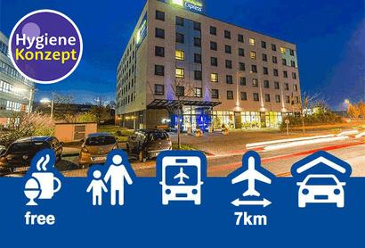 Holiday Inn Express Düsseldorf City Nord - Hotel incl. parkeren op Luchthaven Dusseldorf
