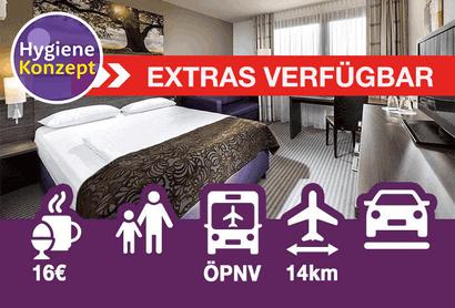 Mercure Hotel Düsseldorf Airport (ohne Transfer) - Hotel incl. parkeren op Luchthaven Dusseldorf