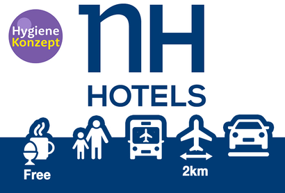 NH Frankfurt Airport - Hotel inkl. Parken am Flughafen Frankfurt