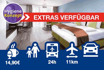 Best Western Hotel Frankfurt Airport Neu-Isenburg - Hotel inkl. Parken am Flughafen Frankfurt