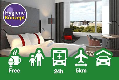 Holiday Inn Hamburg – City Nord - Hotel inkl. Parken am Flughafen Hamburg