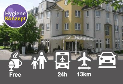 ACHAT Comfort Messe-Leipzig - Hotel inkl. Parken am Flughafen Leipzig / Halle
