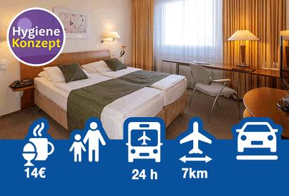 Globana Airport Hotel - Hotel inkl. Parken am Flughafen Leipzig / Halle