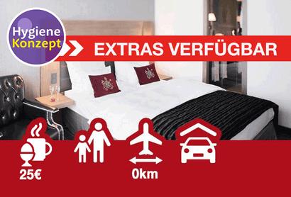 Mövenpick Hotel Stuttgart Airport - Hotel inkl. Parken am Flughafen Stuttgart